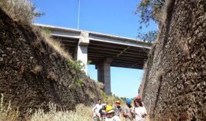 Ξεκίνησε η κατασκευή της Γέφυρας στην Κεντρική Διώρυγα της Κωπαϊδας (ΦΩΤΟ)